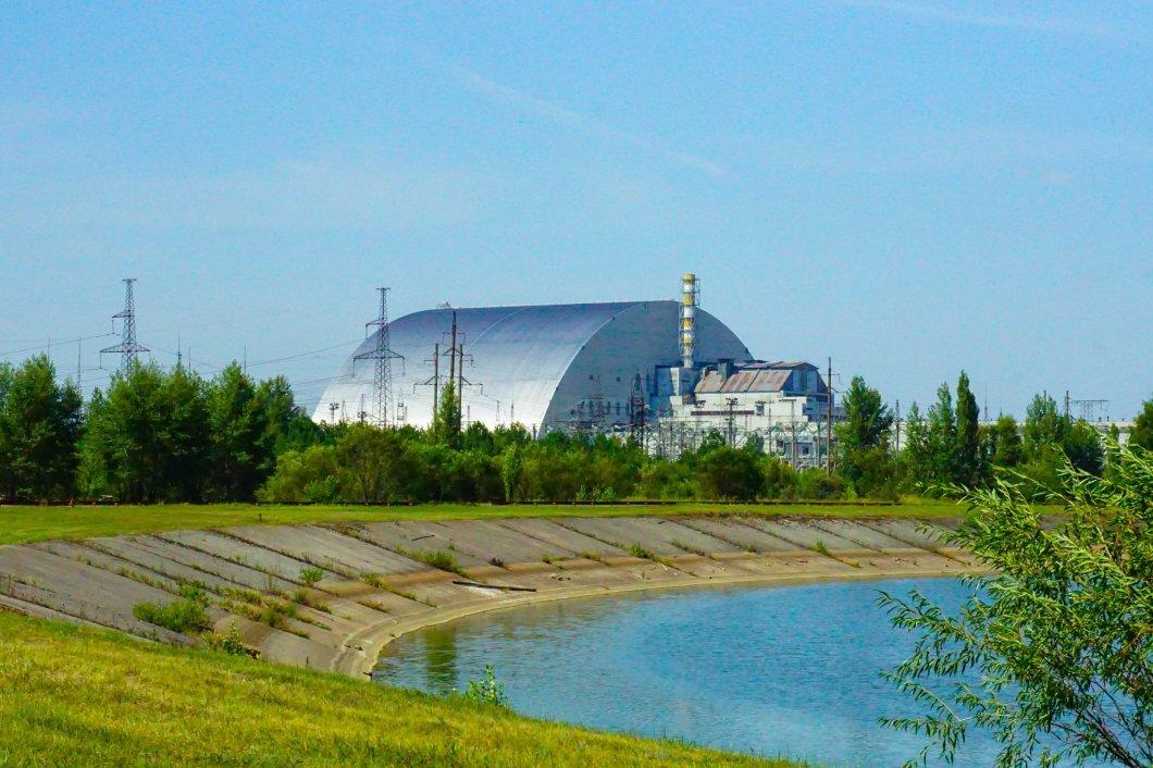 Czarnobyl - reaktor z oddali