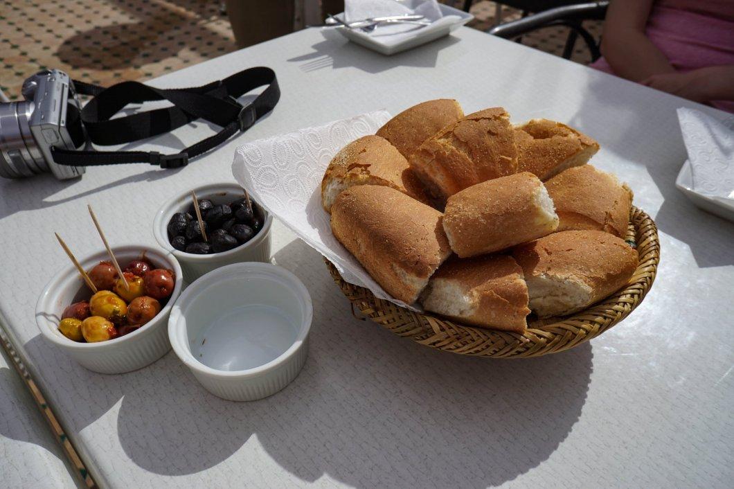 Jedzenie w Maroko - przystawki