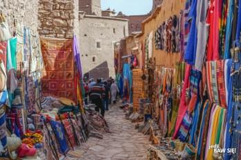 Ait Ben Haddou - Kazba - uliczki