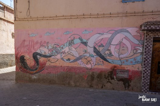 Taroudant - grafitti