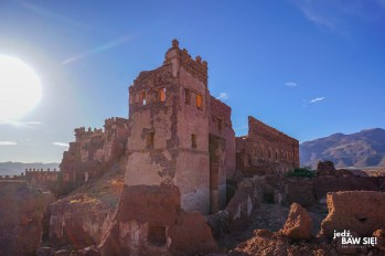 Telouet - Kazba - wieża