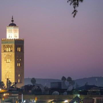 Marrakesz - minaret Koutoubia