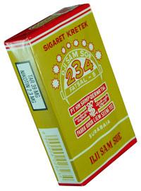 Najsłynniejsza wersja papierosów Dji Sam Soe (źródło: Djarumblackclub.com)