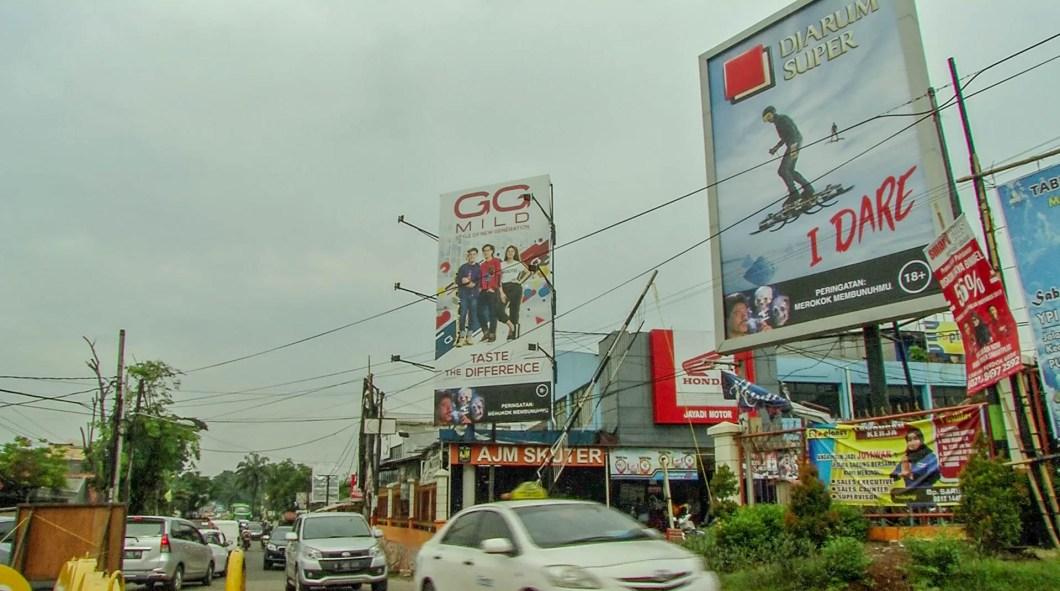 Kretek - reklamy papierosów w Indonezji