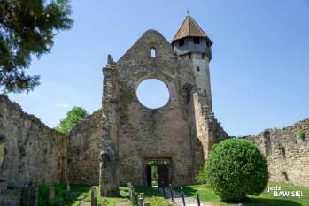 Rumunia - klasztor w Carcie