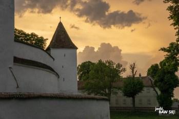 Rumunia - kościół w Harman