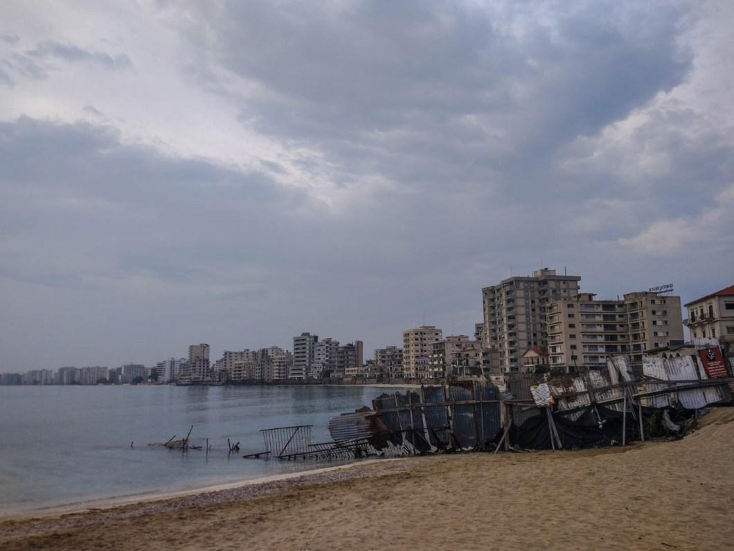 Famagusta - mury