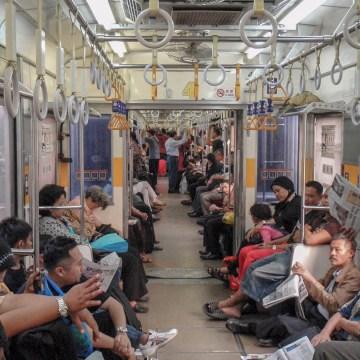 Indonezja - Pociąg do Bogor