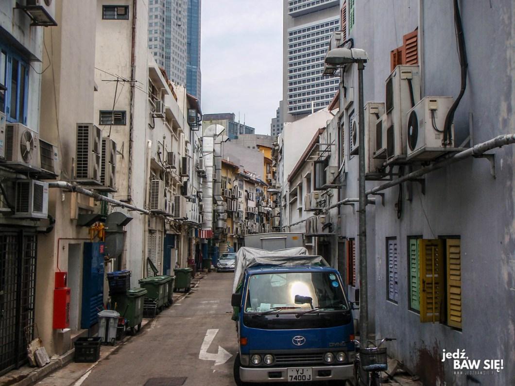 Singapur - uliczka