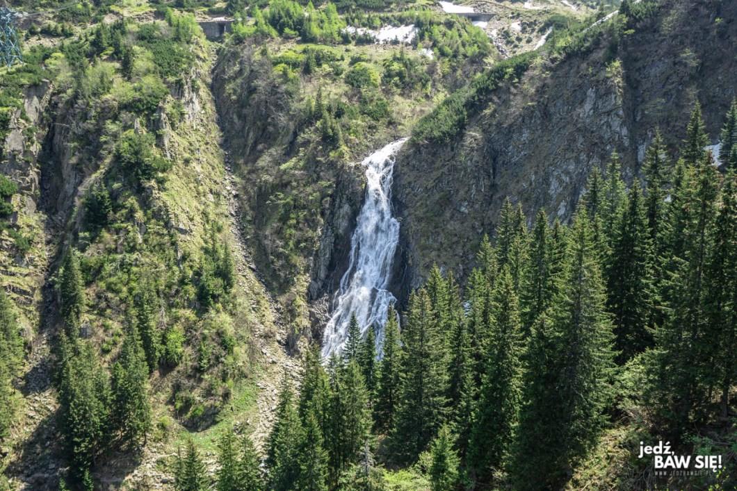 Trasa Transfogarska - wodospad Balea