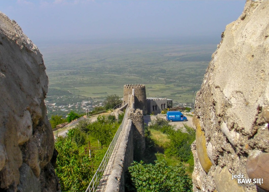 Sighnaghi - mury miejskie