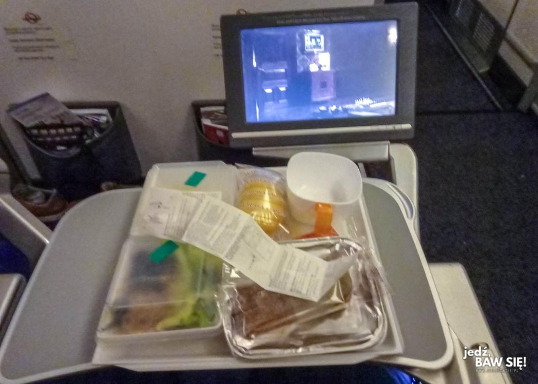 Aeroflot - obiad