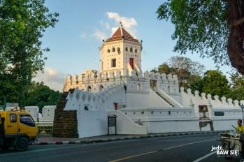 Bangkok - fort Phra Sumen