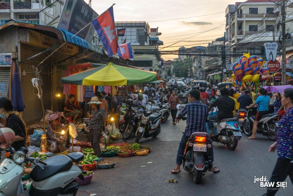 Phnom Penh - chodniki