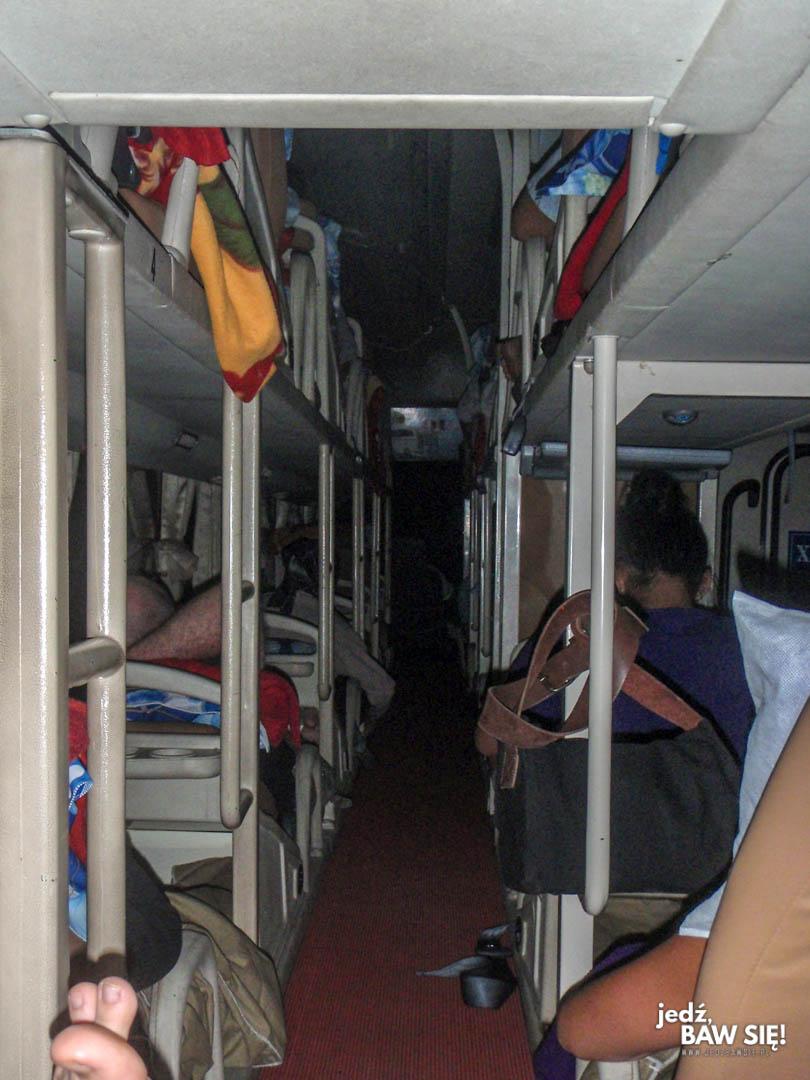 Wietnam - autobus sypialny