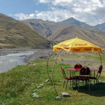 Azerbejdżan - przydrożna herbaciarnia (4)