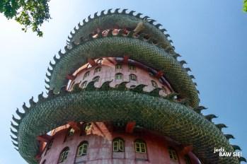 Wat Samphran z dołu