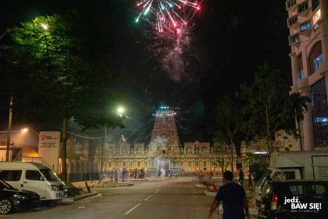 Kuala Lumpur - obchody Diwali
