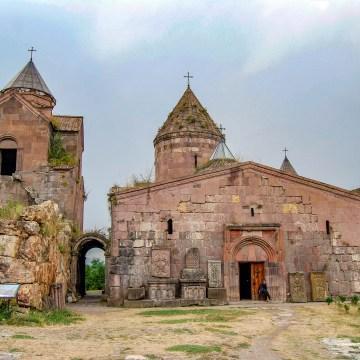 Armenia - klasztor Goshavank