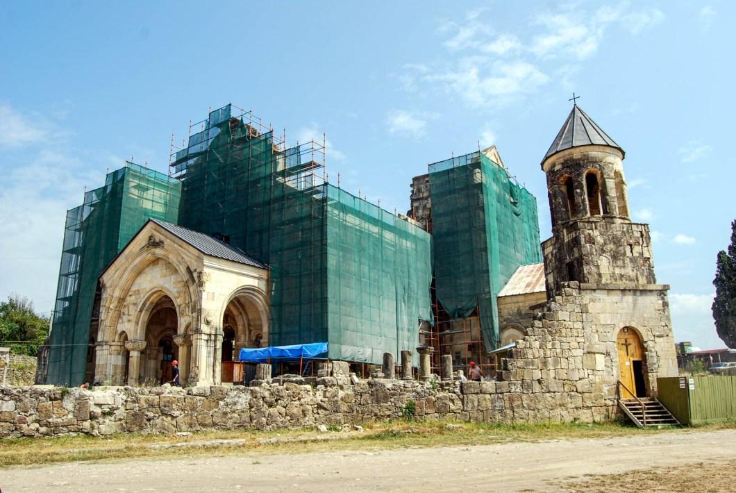 Kutaisi - katedra Bagrati