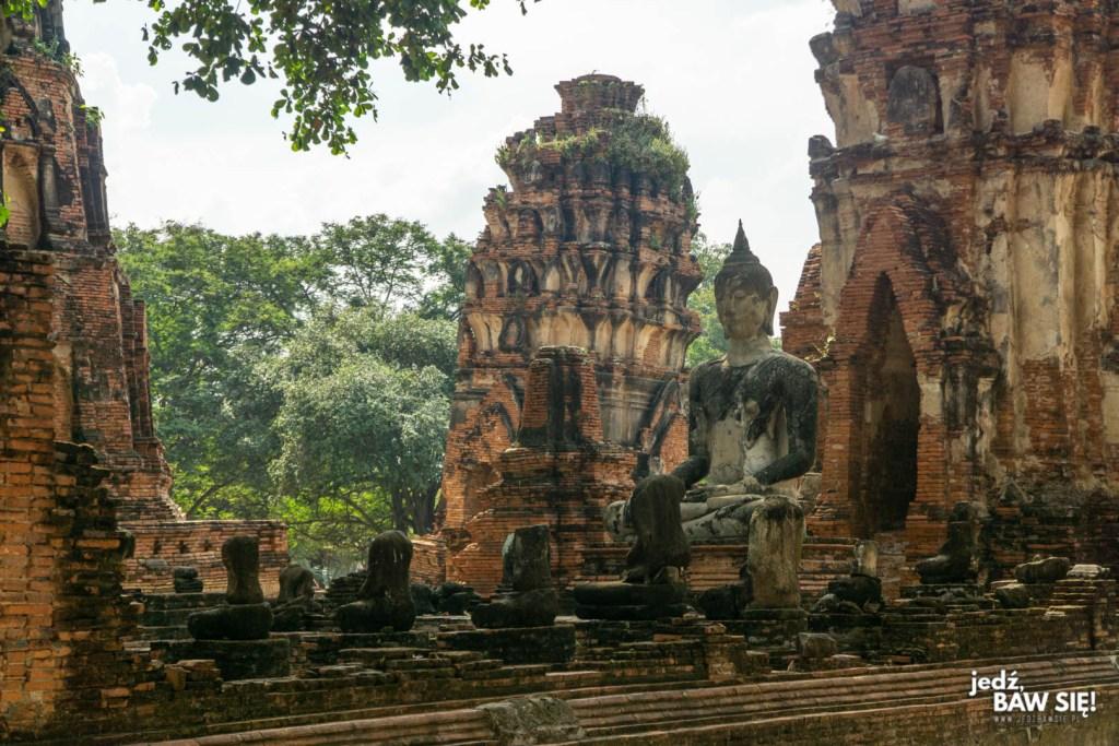 Ayutthaya - ruiny
