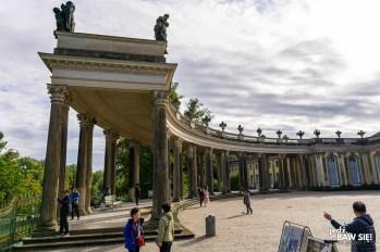 Sanssouci - arkady