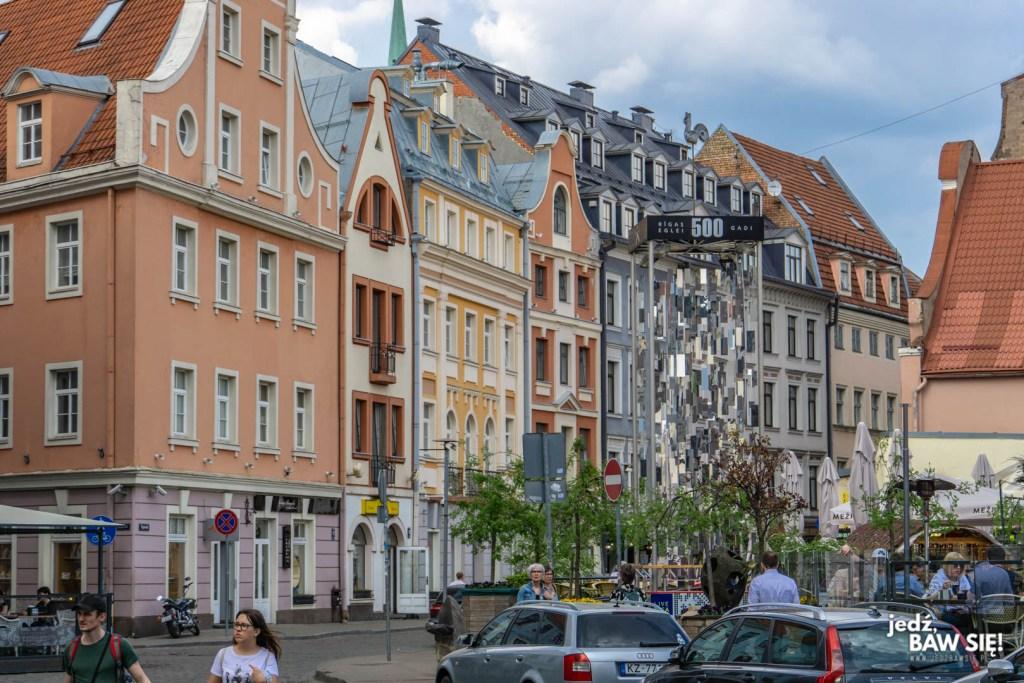 Ryga - średniowieczne uliczki