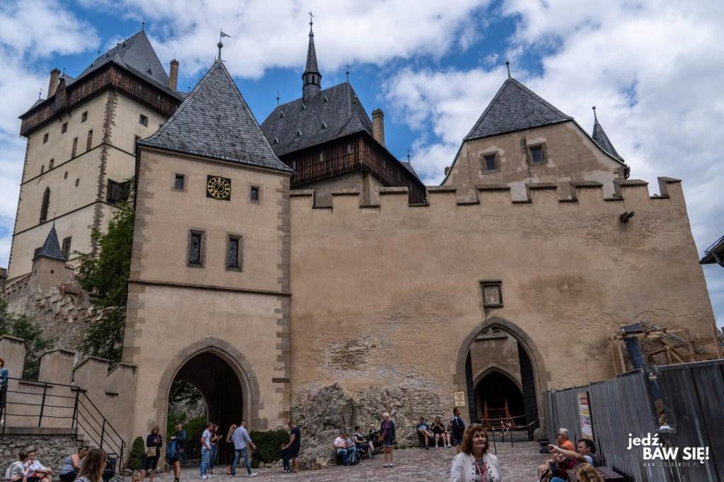 Czechy - zamek Karlstejn