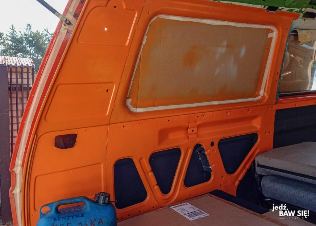 VW T3 - lakierowanie wnętrza
