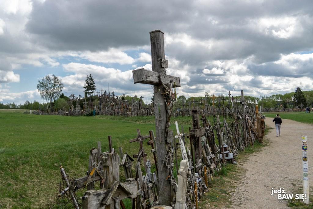Góra Krzyży - dojście
