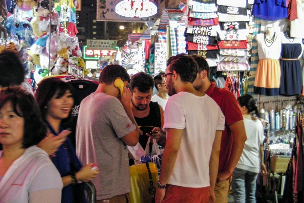 Hong Kong - Mong-Kok market