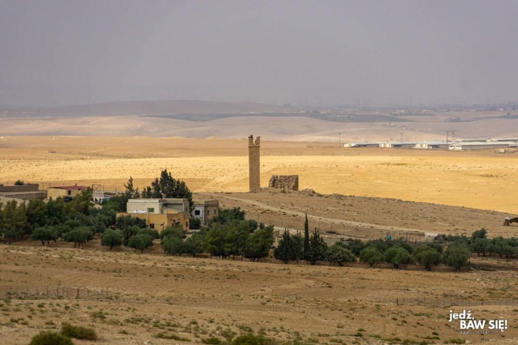 Umm Ar Rasas - wieża pustelnicza