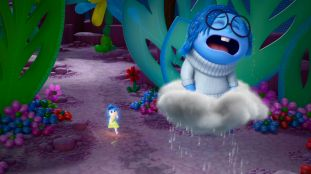 INSIDE OUT - Pictured (L-R): Joy, Sadness. ©2015 Disney•Pixar. All Rights Reserved.