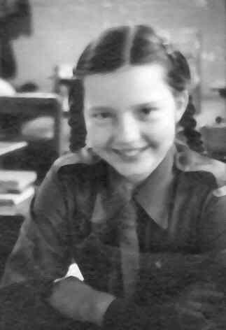 Judy Taylor in Baron Renfrew School