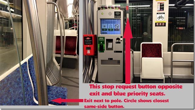 TTC New Streetcar Stop Request Button Locations Shireen Jeejeebhoy 5-10-2015