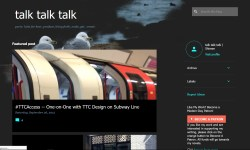 talk talk talk Blog Looking Snazzy and Modern