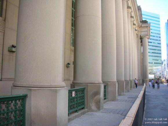 Union Station Toronto Columns