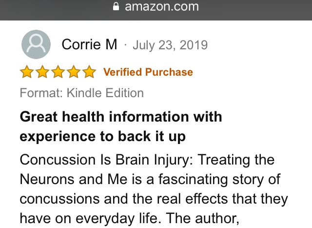 Corrie M 5-star review 23 July 2019