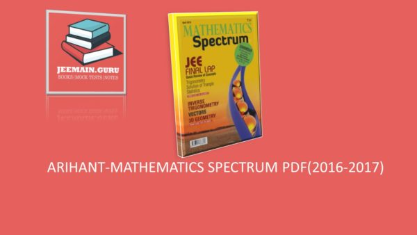 PDF]DOWNLOAD ARIHANT-SPECTRUM MATHEMATICS (2016-2017
