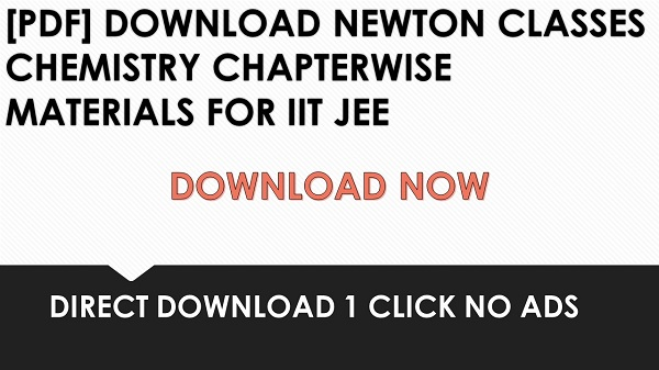Iit Jee Chapter Wise Questions Pdf