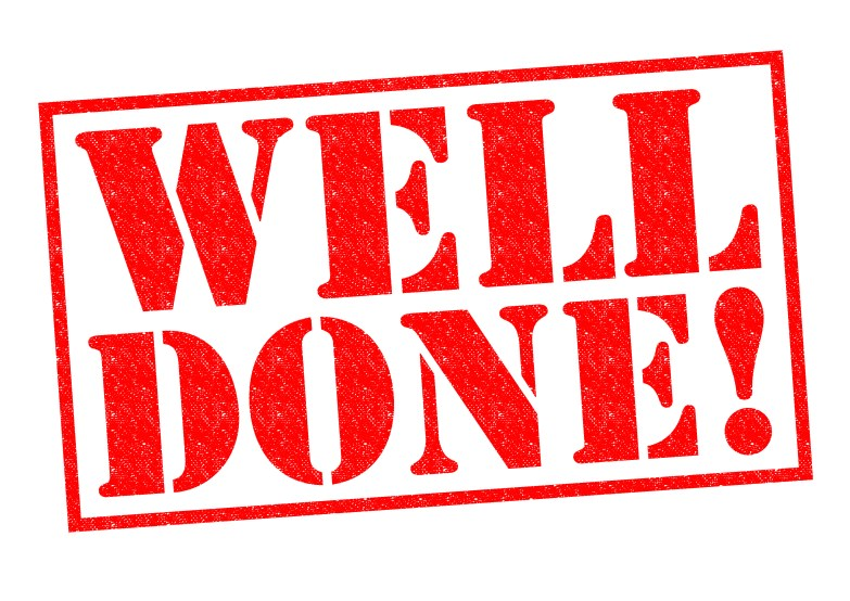 WELL DONE! Come back tomorrow for another bite-sized mindfulness session.