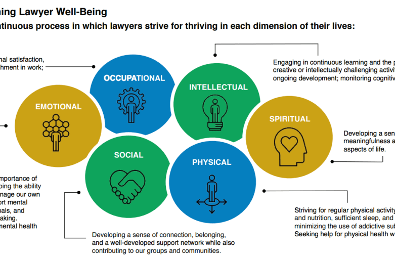 What Can Law Firms Do To Promote Well-Being? Suggestions From  National Task Force on Lawyer Well-Being