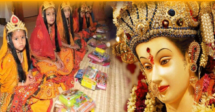 Navratri Poojan at Home