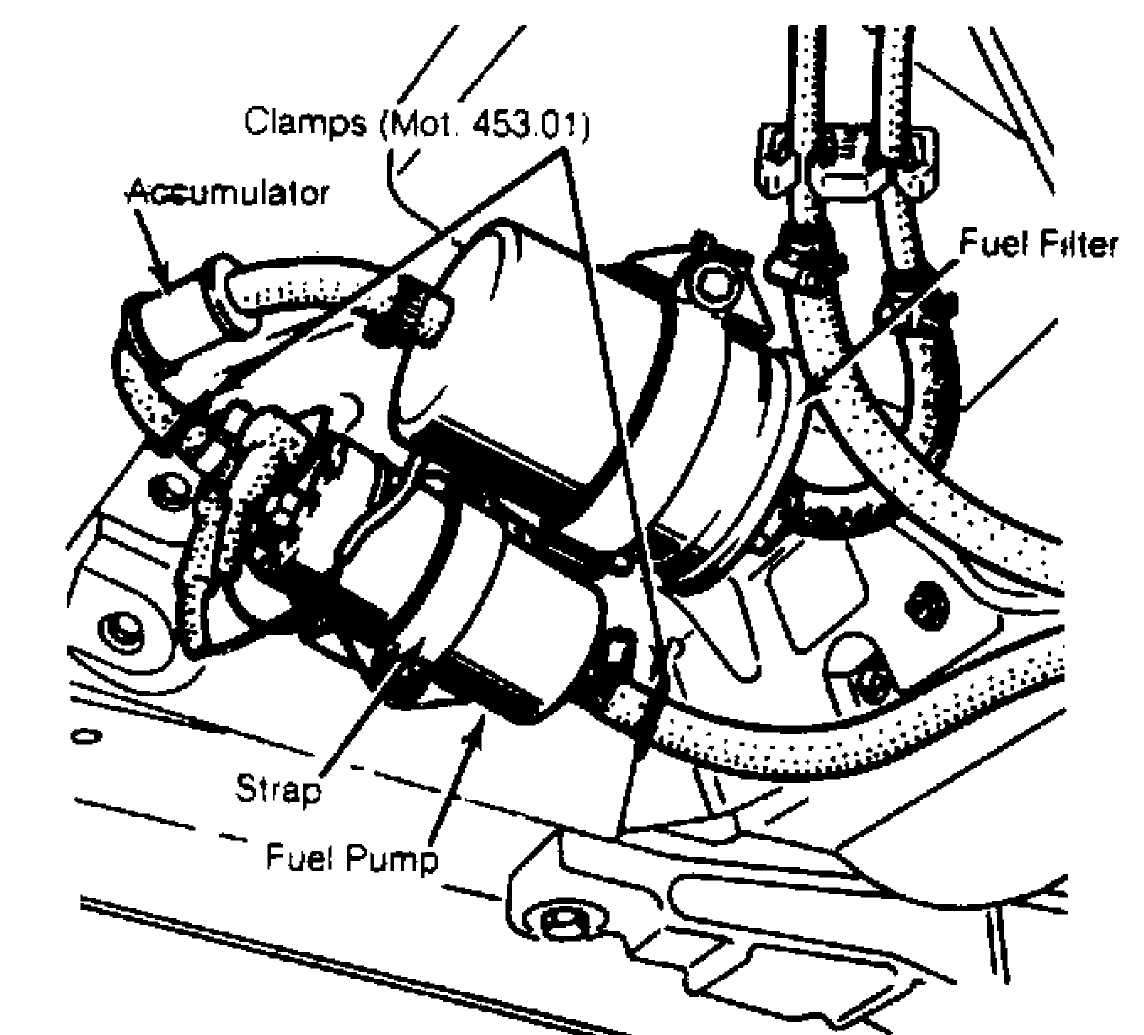 Ford Ranger Fuel Pump Location