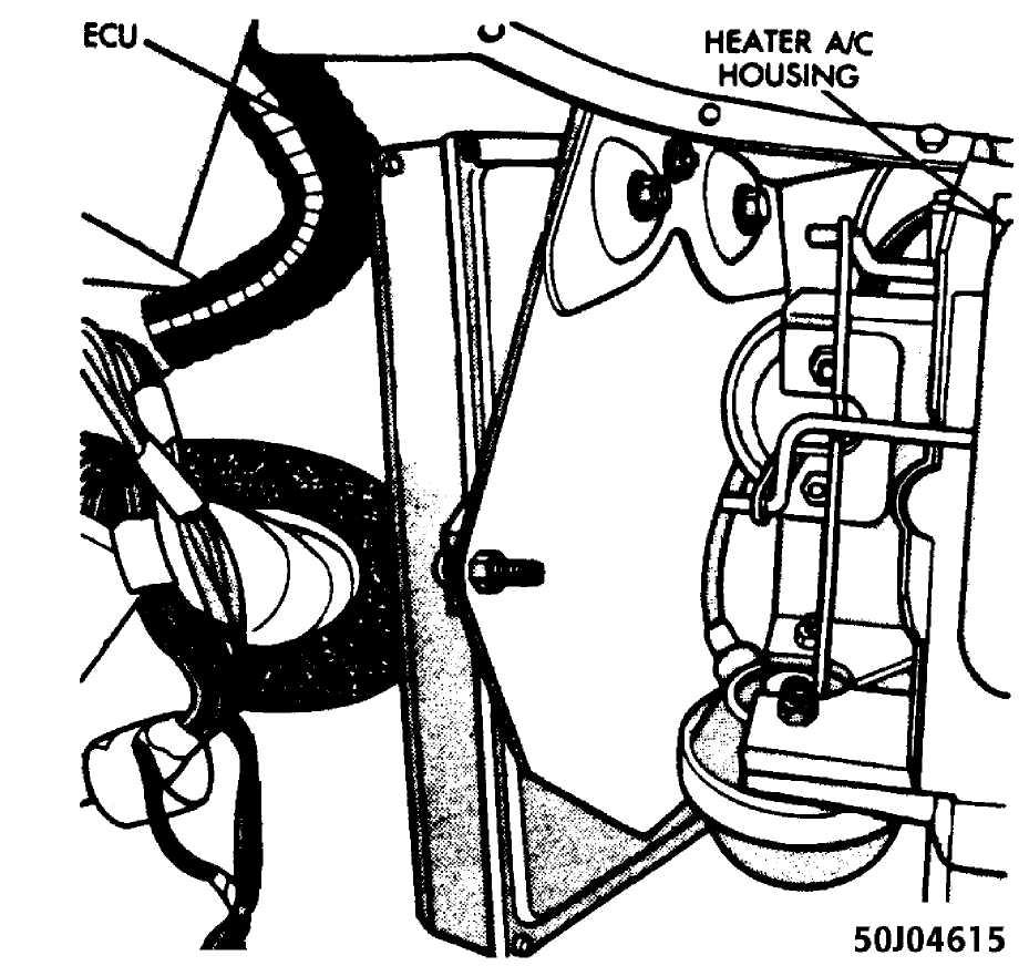 Fig 22 location of ecu courtesy of chrysler motors
