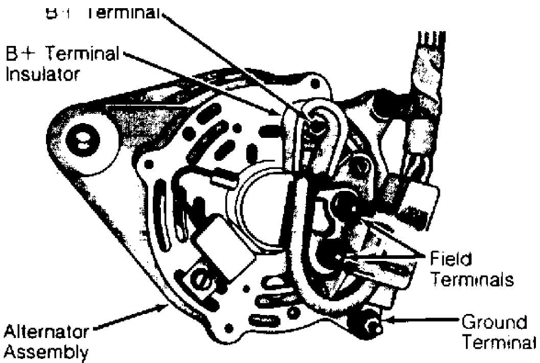 2000 Jeep Grand Cherokee Alternator Wiring Diagram - Wiring Diagram