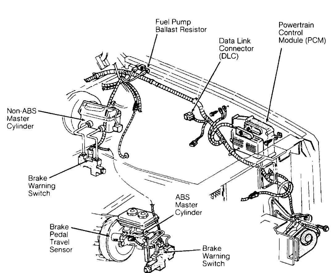 Electrical Component Locator Jeep Cherokee Xj