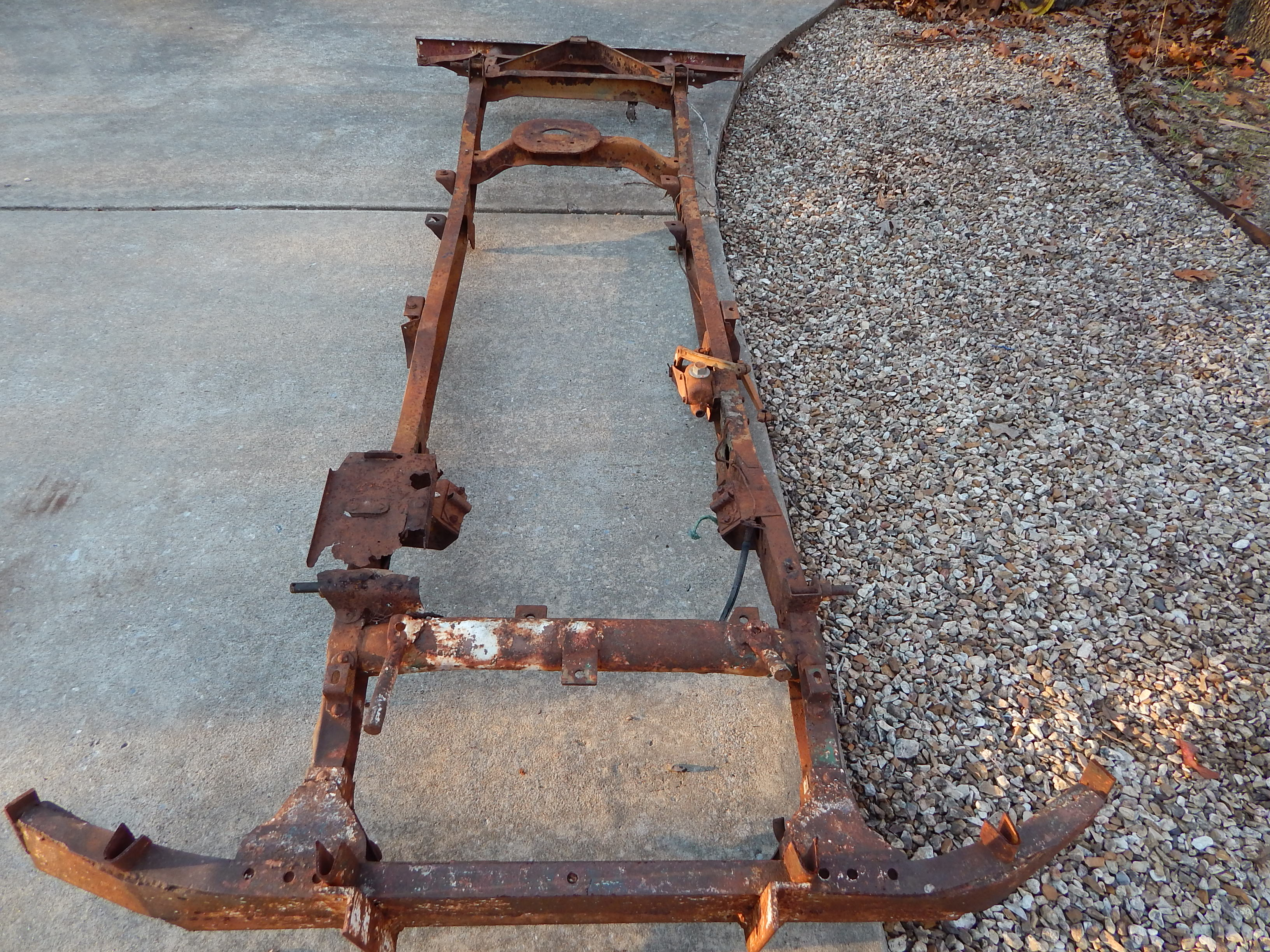 1945 Willys Mb Frame For Sale Classic Military Vehicles