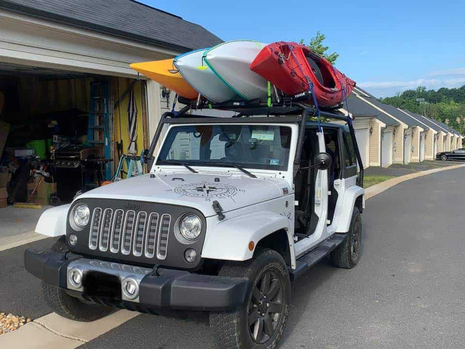 best roof rack for the jeep wrangler