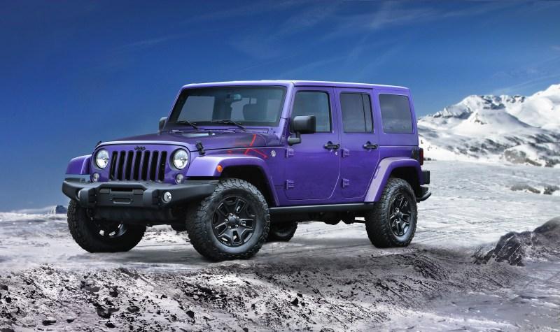 2016 Jeep® Wrangler Backcountry